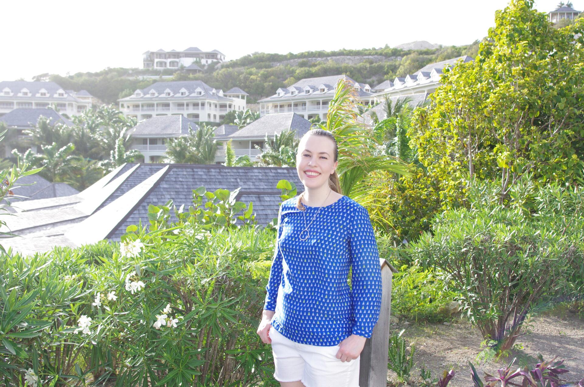 Target Silk Shirt, Tommy Bahama Circle Pendant, Kohl's LC Lauren Conrad