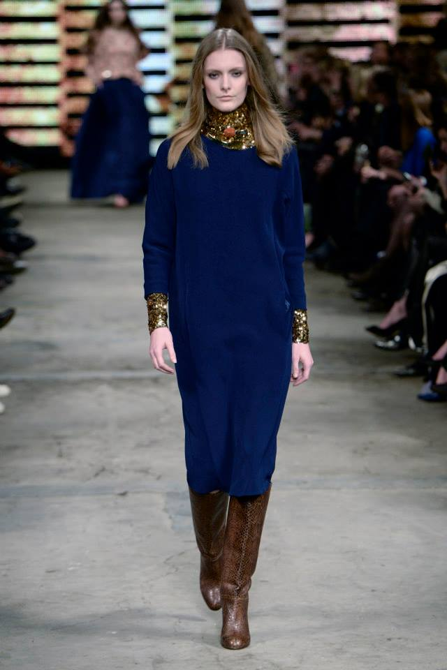 By Malene Birger AW14 Layering with a Sequin Tee