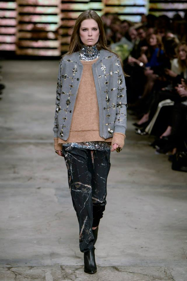 By Malene Birger Sequin Tee Layering AW14