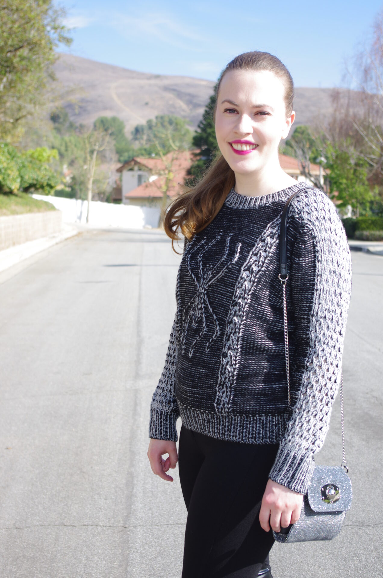 TopShop Spider Sweater, MICHAEL Michael Kors Petite Riding Pants